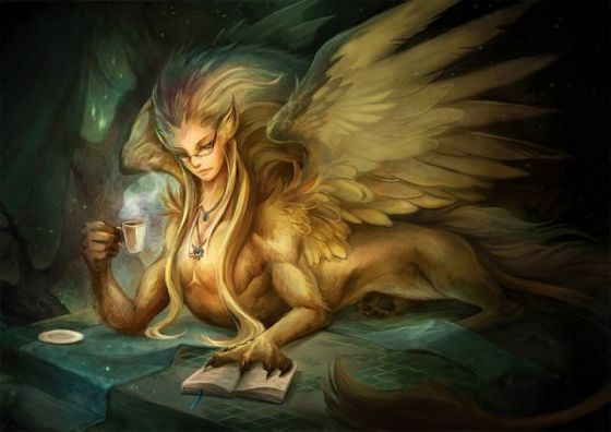 Mahluk Mitologi cantik